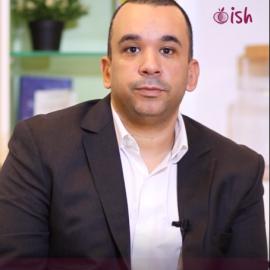 Taha Lotfi a choisi Ish pour son côté pratique et ses programmes de perte de poids sans privation