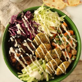 Assiette Libanaise