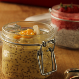 Chia Pudding mangue et coco